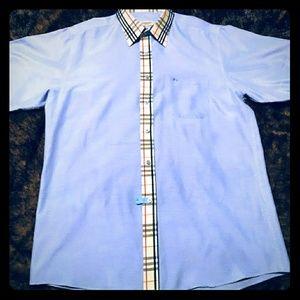 Authentic Burberry XL/XXL Short Sleeve Shirt